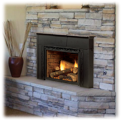 Options To Convert A Wood Fireplace To Natural Gas