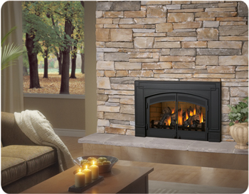 Heat Efficient Gas Fireplace Inserts Boston Sudbury Ma