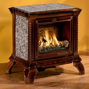 Gas Stoves, Inserts, Vent-free Gas Stoves