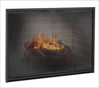 Standard Glass Fireplace Doors