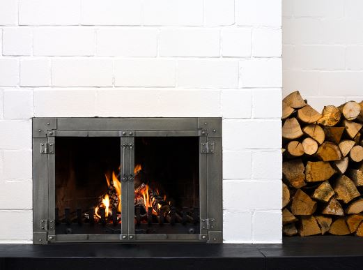 Benefits Of Glass Fireplace Doors For Your Open Fireplace Sudbury