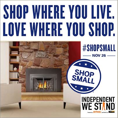 The Fireplace Shop and Grill Center at West Sport, Small Business Saturday Sale