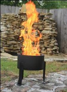 Flame Genie Pellet Fire Pit Decorative Electric