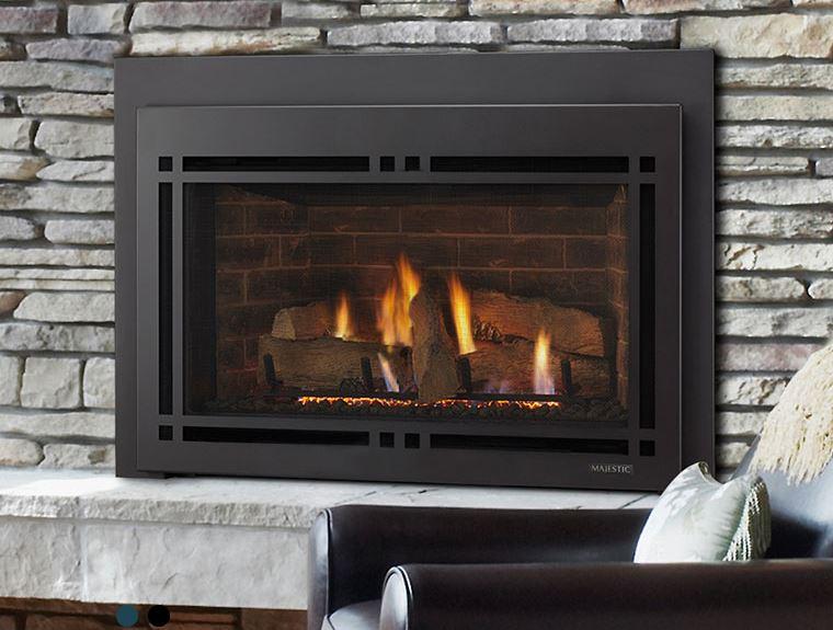 Heat Efficient Gas Fireplace Inserts Boston Sudbury Ma Monessen Hearthstone Napoleon