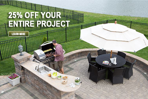 Outdoor Kitchens, Built-in Gas Grills and Islands