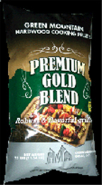 28-lb. bag of Premium Gold Blend cooking pellets