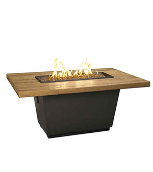 Cosmopolitan Rectangle Firetable - French Barrel Oak