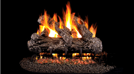 Ventless Gas Logs Natural Blaze Seethru Log Set Vent Free
