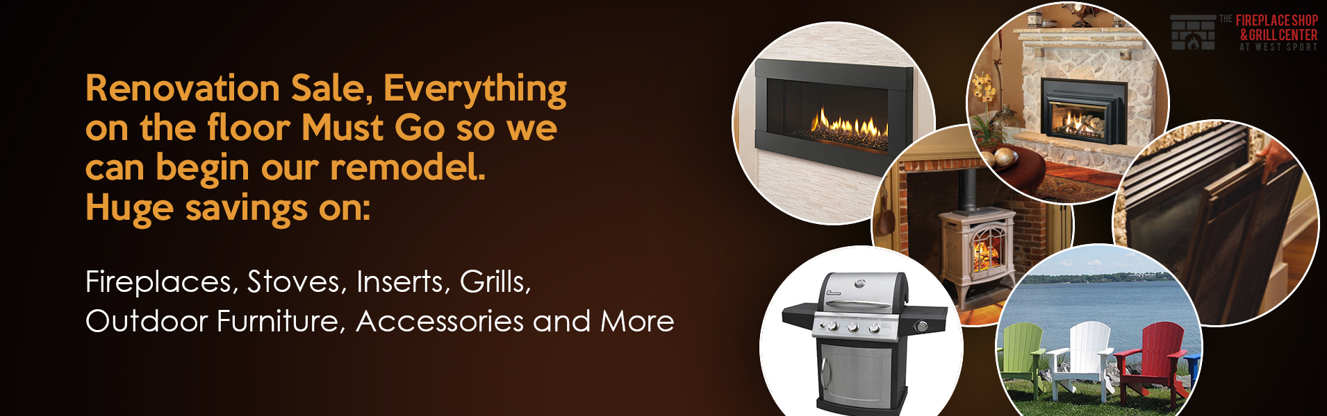 The Fireplace Shop & Grill Center at West Sport - Fireplace, Grill, Fireplace Inserts and Stoves On Sale in Boston, Sudbury, MA